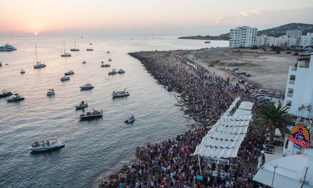 Mambo - widok z lotu ptaka Ibiza
